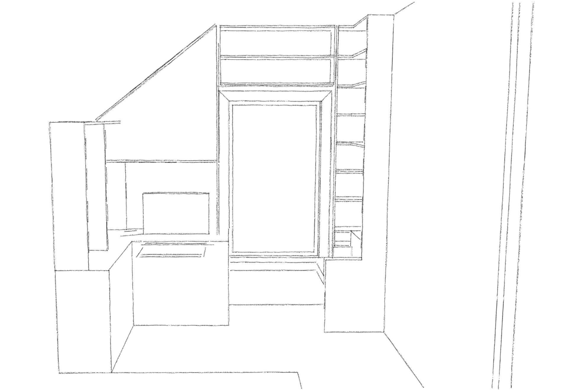 Office from scratch SketchUp