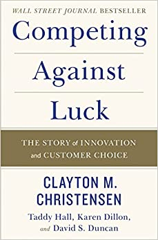 Book Cover of Competing Against Luck