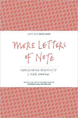 Book Cover of More Letters of Note!