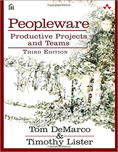 Book cover of Peopleware